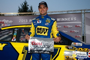 Polesitter Ricky Stenhouse Jr., Roush Fenway Racing Ford
