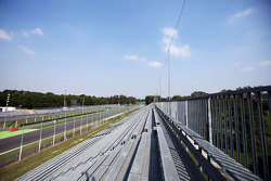 F1: The grandstand approaching the Parabolica