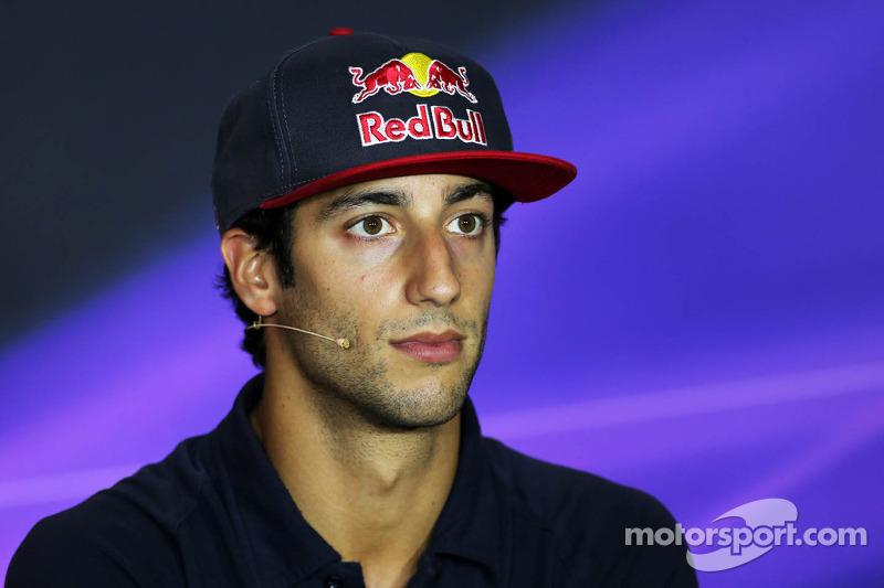 Promotie voor Ricciardo