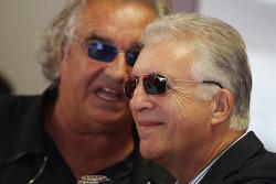 Piero Ferrari, Vicepresidente de Ferrari con Flavio Briatore