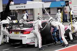 Pit stop Andy Priaulx, BMW Team RMG BMW M3 DTM