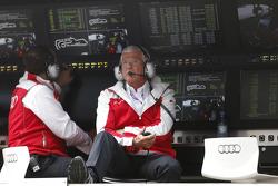 Arno Zensen, team boss Audi Sport Team Rosberg