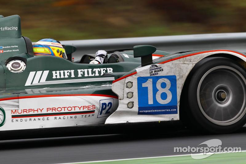 #18 Murphy Prototypes ORECA 03 Nissan: Brendon Hartley, Jonathan Hirschi