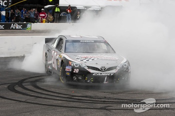 Race winner Matt Kenseth, Joe Gibbs Racing Toyota