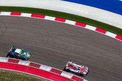#41 Greaves Motorsport Zytek Z11SN - Nissan: Christian Zugel, Chris Dyson #99 Aston Martin Racing Aston Martin Vantage V8: Bruno Senna, Frédéric Makowiecki