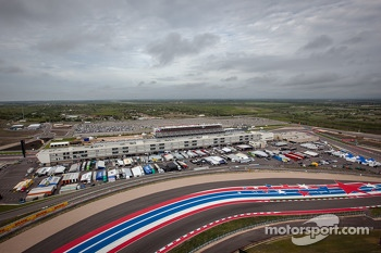 Circuit of the Americas paddock area