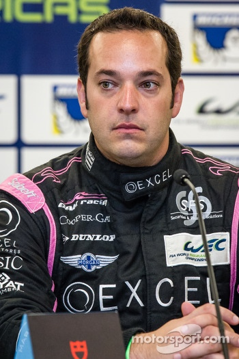 Press conference for the North American WEC drivers: Ricardo Gonzalez