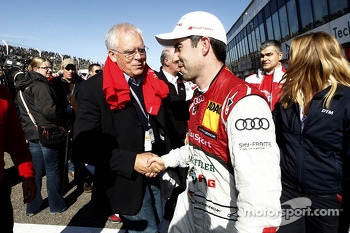 2013 Champion Mike Rockenfeller with Dr. Ulrich Hackenberg