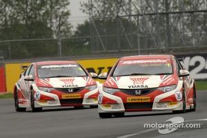 Gordon Shedden and Matt Neal, Honda Yuasa Racing