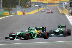 Giedo van der Garde, Caterham F1 Team and Charles Pic, Catheram Formula One Team