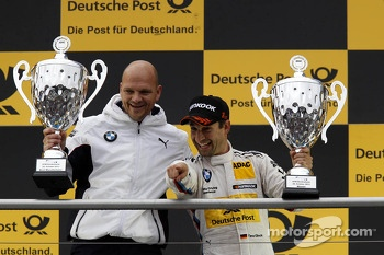 Ernest Knoors, BMW Team MTEK and Timo Glock, BMW Team MTEK BMW M3 DTM