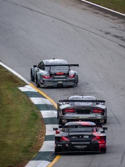 #17 Team Falken Tire Porsche 911 GT3 RSR: Bryan Sellers, Wolf Henzler, Nick Tandy, #91 SRT Motorsports SRT Viper GTS-R: Dominik Farnbacher, Marc Goossens, Ryan Dalziel, #55 BMW Team RLL BMW Z4 GTE: Maxime Martin, Jörg Mu_ller, Uwe Alzen