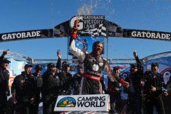 Race winner Darrell Wallace Jr.