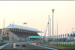 Valtteri Bottas, Williams F1 Team and Giedo van der Garde, Caterham F1 Team