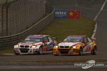 Charles Ng, BMW E90 320 TC, Liqui Moly Team Engstler and Darryl O'Young, BMW E90 320 TC, ROAL Motorsport