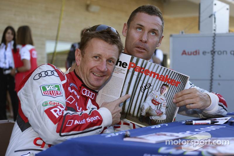 Allan McNish and Tom Kristensen