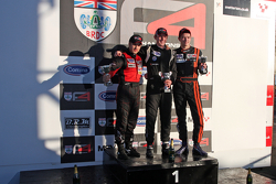 Podium From left: Falco Wauer, Jake Cook and Will Palmer