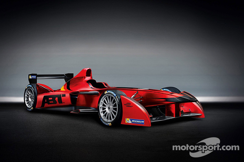 The Audi Sport Abt livery