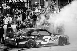 NASCAR Nationwide Series 2013 champion Austin Dillon celebrates