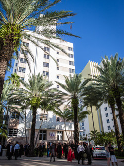 The Loews Hotel in Miami Beach welcomes the NASCAR Nationwide and Camping World Truck Series Awards