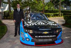 NASCAR Nationwide Series champion driver trophy Austin Dillon