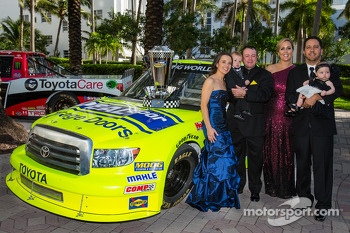 NASCAR Camping World Truck Series champion driver Matt Crafton