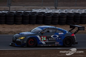 #24 Rotek Racing Audi TT RS: Jeff Altenburg, Robb Holland, Roland Pritzker, Robert Huff