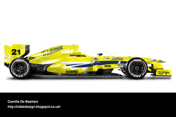 Retro F1 car - Minardi 2000