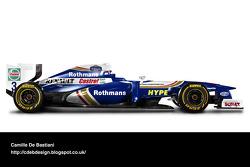Retro F1 car - Williams 1997