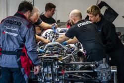 SpeedSource Mazda team members at work