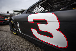 Number 3 on the car of Austin Dillon, Richard Childress Racing Chevrolet