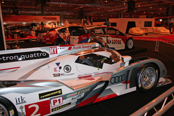 Audi R18 e-tron quattro Le Mans car