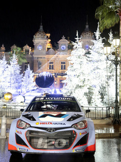 The Hyundai i20 WRC