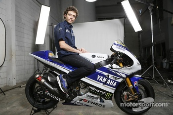 The Yamaha YZR-M1 of Valentino Rossi