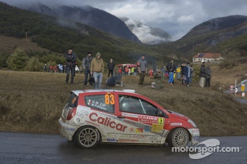 Olivier Burri and Fabrice Gordon, Ford Fiesta S2000