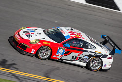 #58 Snow Racing Porsche 911 GT America Porsche: Madison Snow, Jan Heylen, Marco Seefried