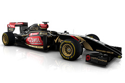 Computer rendering of the new Lotus F1 E22