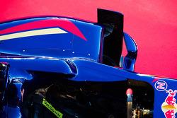 Scuderia Toro Rosso STR9 sidepod detail