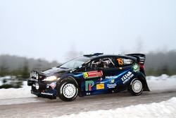 Pontus Tidemand and Ola Floene, Ford Fiesta WRC