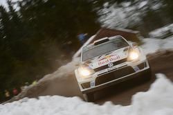 #1 Volkswagen Polo R WRC: Sebastien Ogier, Julien Ingrassia
