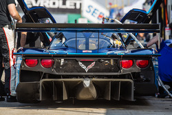 Rear diffuser on the #90 Spirit of Daytona Corvette DP