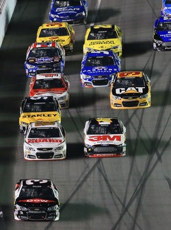 Austin Dillon, Richard Childress Racing Chevrolet leads