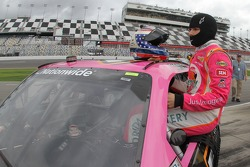 Danica Patrick gets ready to qualify