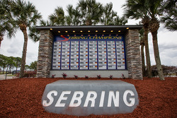 The updated Sebring champions wall of fame