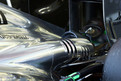 McLaren MP4-29 engine cover detail