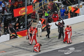 Regan Smith's team celebrates