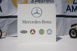 Mercedes-Benz display stand