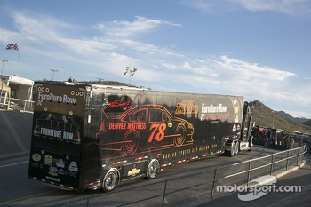Hauler of Martin Truex Jr.