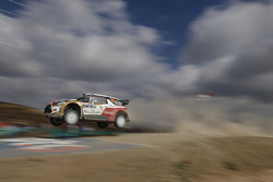 Kris Meeke and Paul Nagle, Citroën DS3 WRC, Citroën Total Abu Dhabi World Rally Team