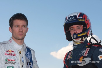 Sébastien Ogier and Thierry Neuville